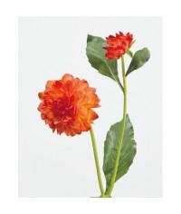 Георгин оранжевый в-48 см, д-8 см 1цв 1бут