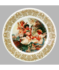 Тарелка декоративная Купидоны