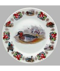 Тарелка декоративная Охота Утка