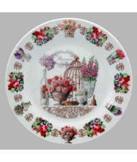 Тарелка декоративная Прованс Розы