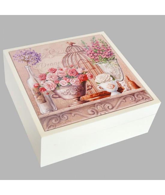 Шкатулка для бижутерии Розы