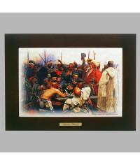 Панно настенное Письмо запорожцев турецкому султану