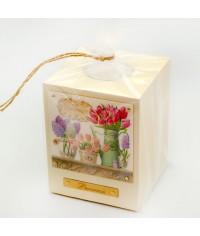 Подсвечник сувенирный Тюльпаны