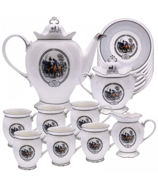 Сервиз чайный 15 частей-Прованс