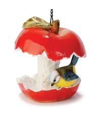 Кормушка Яблоко с птичкой