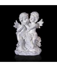 Фигурка Два ангела перламутр