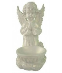 Фигурка Ангел с чашей перламутр