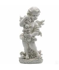 Фигурка Ангел с яблоками - перламутр