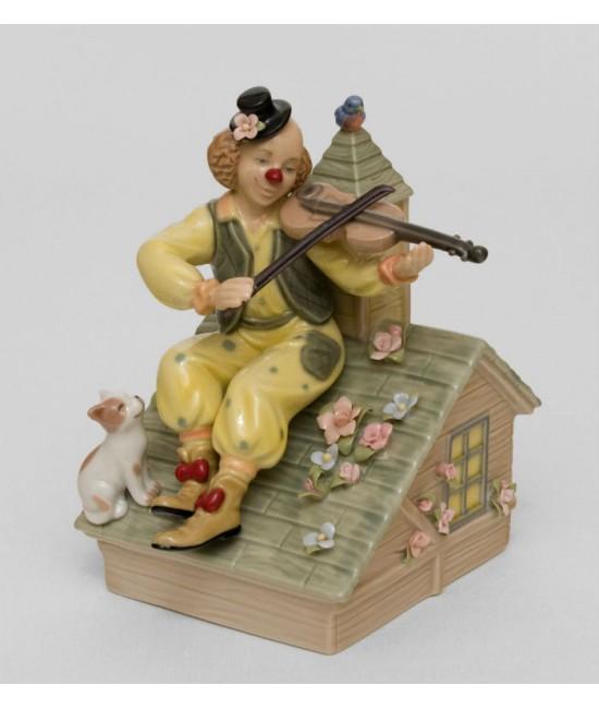 "Муз. фигурка ""Клоун-скрипач на крыше"" (Pavone)"