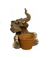 """Фигура Кашпо """"Слон"""" (Sealmark)"""