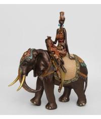 "Статуэтка ""Африканка на слоне"""