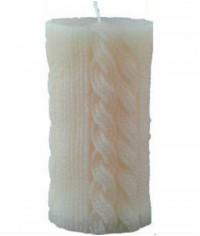 Свеча вязаная (7,5 x 14 см)